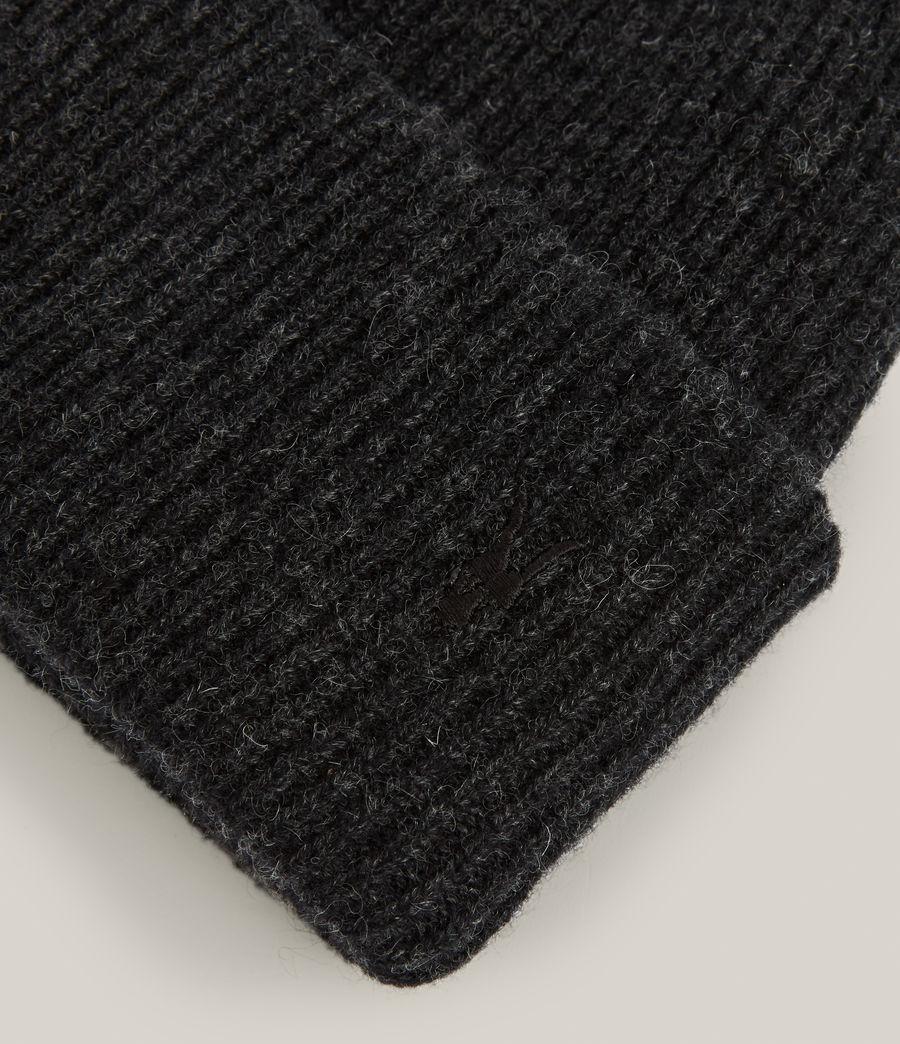 Men's Bailey Wool Beanie (cinder_black_marl) - Image 3