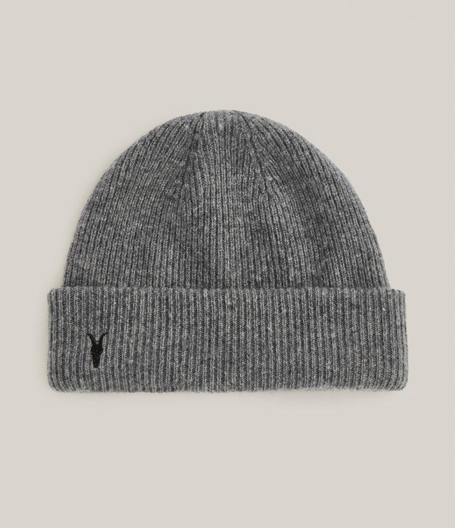 Men's Bailey Wool Beanie (grey_marl) - Image 1