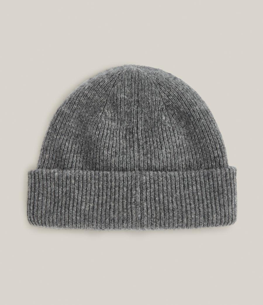 Men's Bailey Wool Beanie (grey_marl) - Image 4