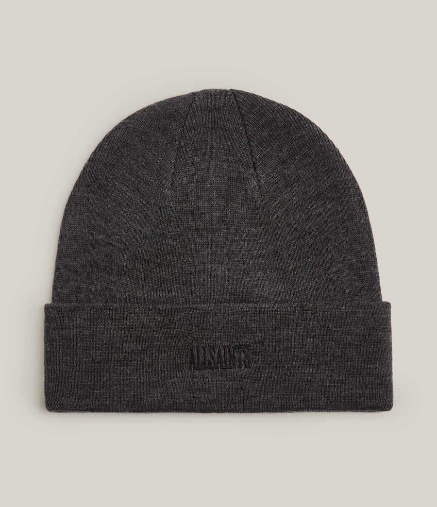 Men's State Logo Beanie (charcoal) - Image 1