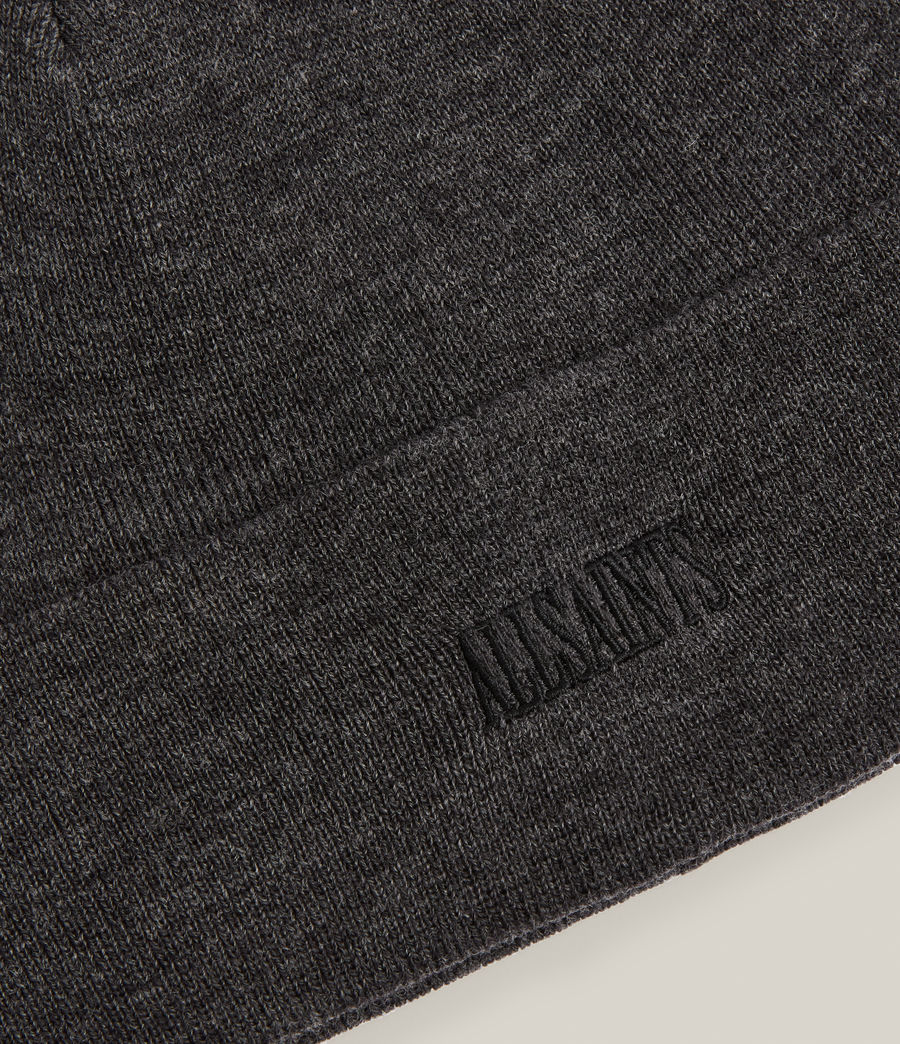 Men's State Logo Beanie (charcoal) - Image 2