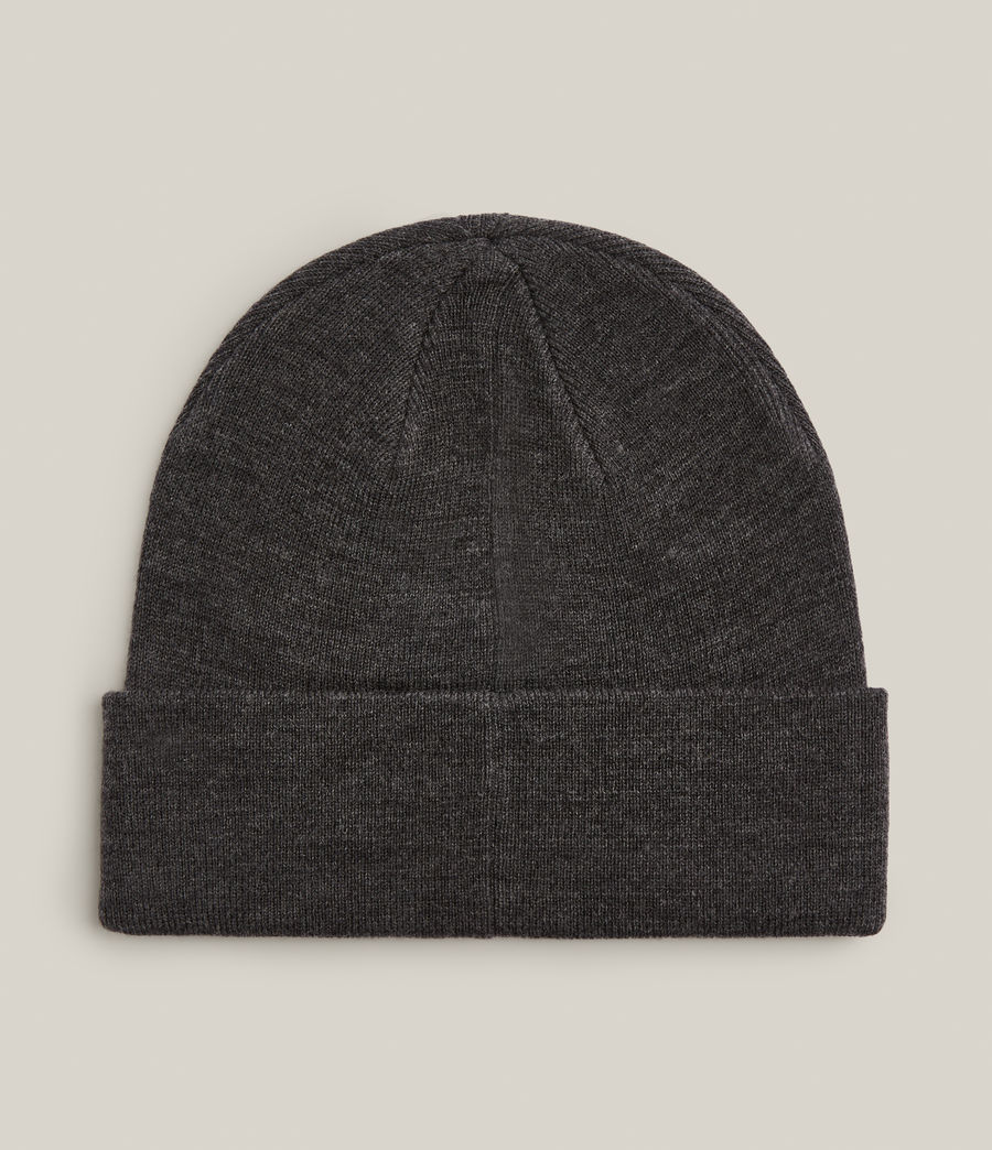 Men's State Logo Beanie (charcoal) - Image 3