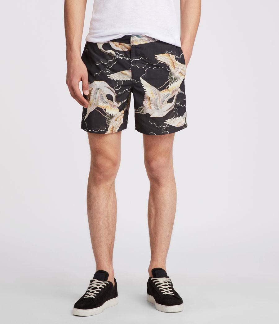 Mens Romaji Swim Shorts (dark_blue) - Image 1