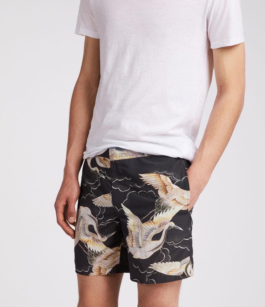 Mens Romaji Swim Shorts (dark_blue) - Image 2