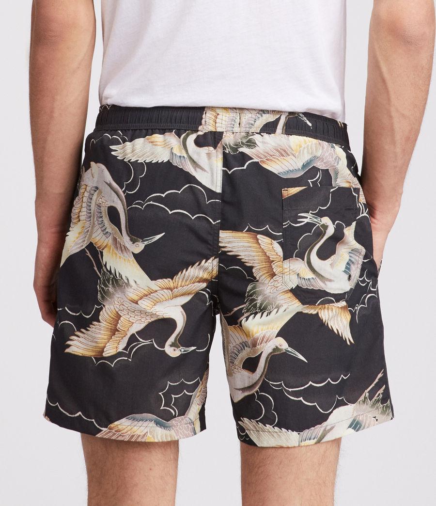 Mens Romaji Swim Shorts (dark_blue) - Image 3