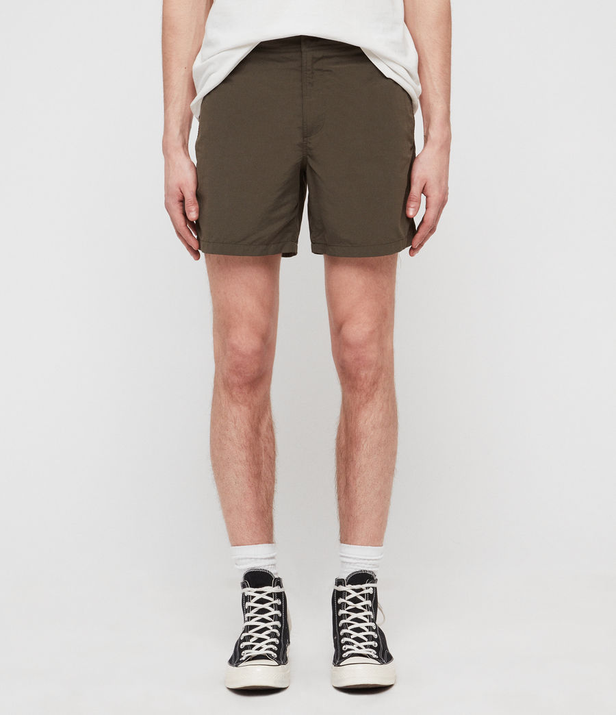 Mens Warden Swim Shorts (khaki_green) - Image 1