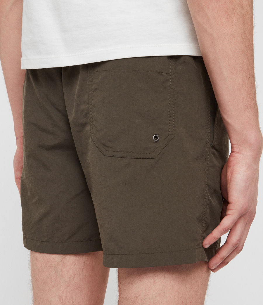 Mens Warden Swim Shorts (khaki_green) - Image 5