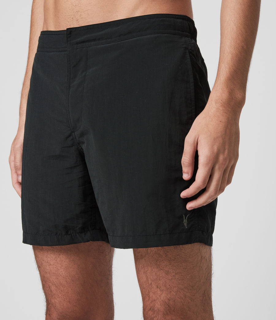Men's Warden Swim Shorts (jet_black) - Image 2