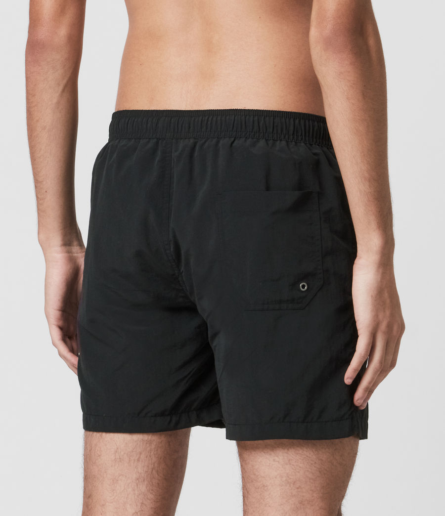 Men's Warden Swim Shorts (jet_black) - Image 4