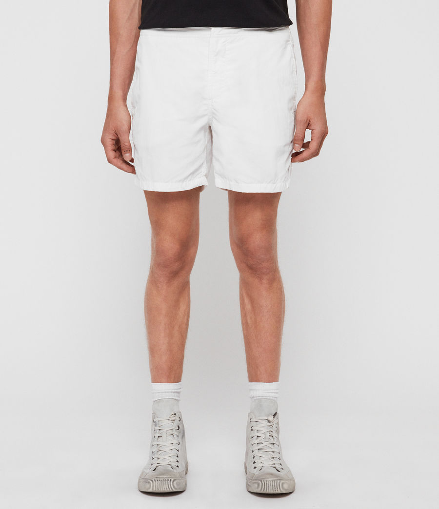 Men's Warden Swim Shorts (chalk_white) - Image 1