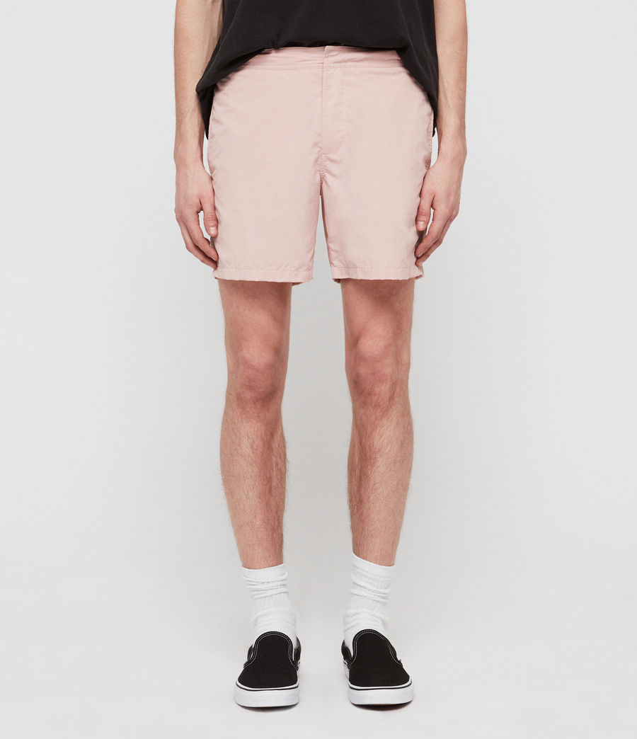 Men's Warden Swim Shorts (bleach_pink) - Image 1