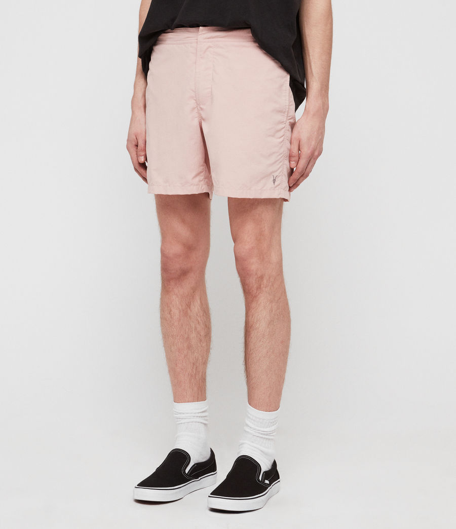 Men's Warden Swim Shorts (bleach_pink) - Image 2
