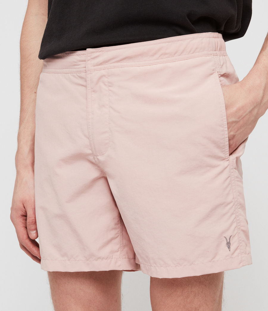 Men's Warden Swim Shorts (bleach_pink) - Image 4