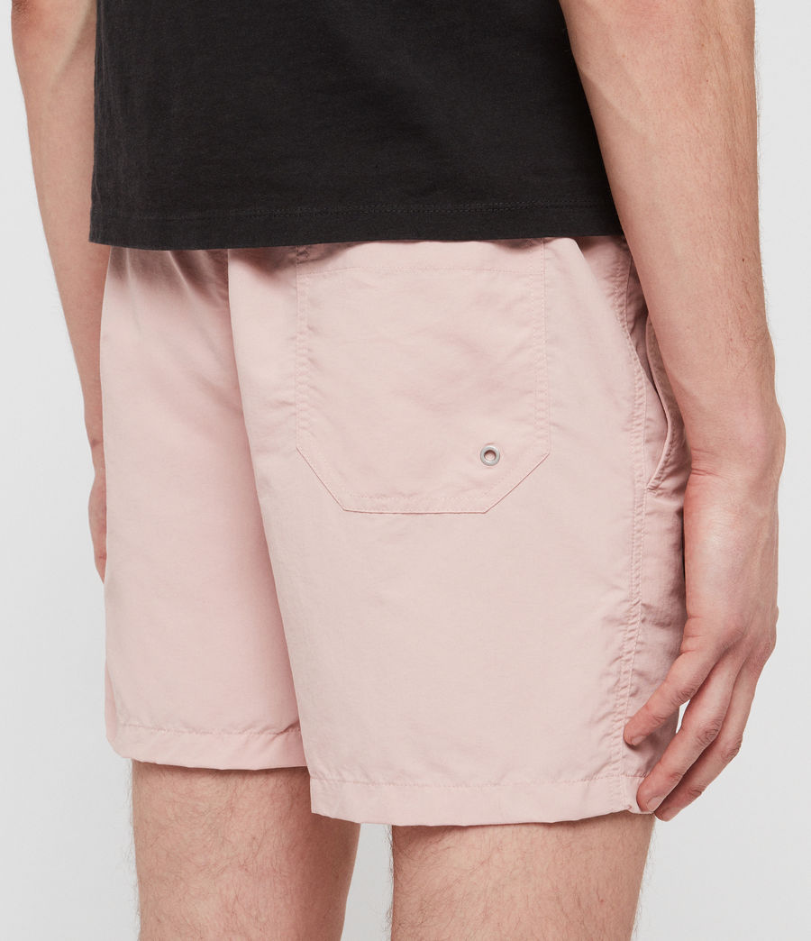 Men's Warden Swim Shorts (bleach_pink) - Image 5