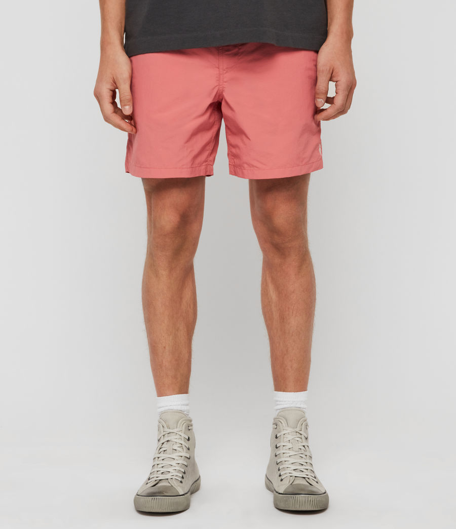Mens Warden Swim Shorts (havana_pink) - Image 1