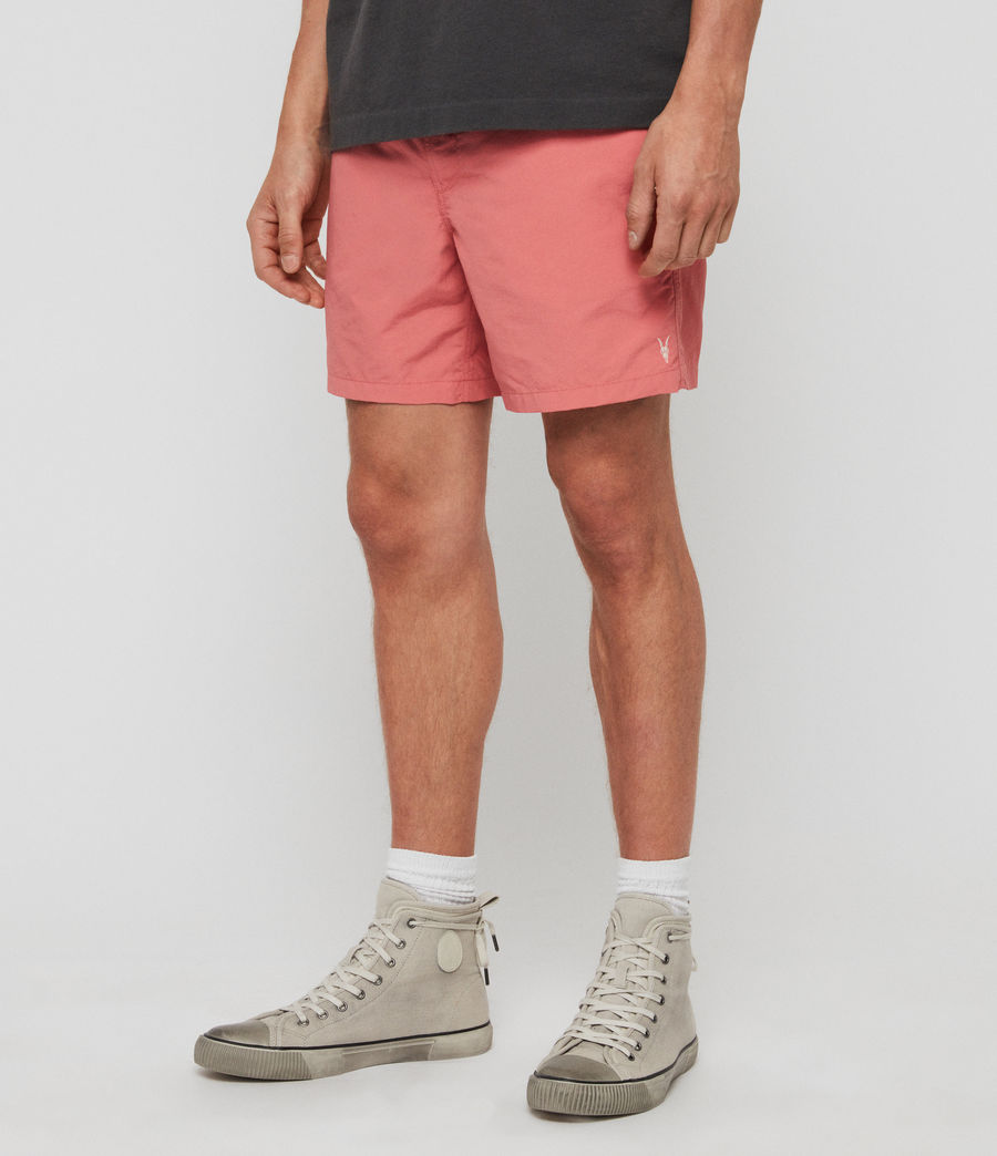 Mens Warden Swim Shorts (havana_pink) - Image 2