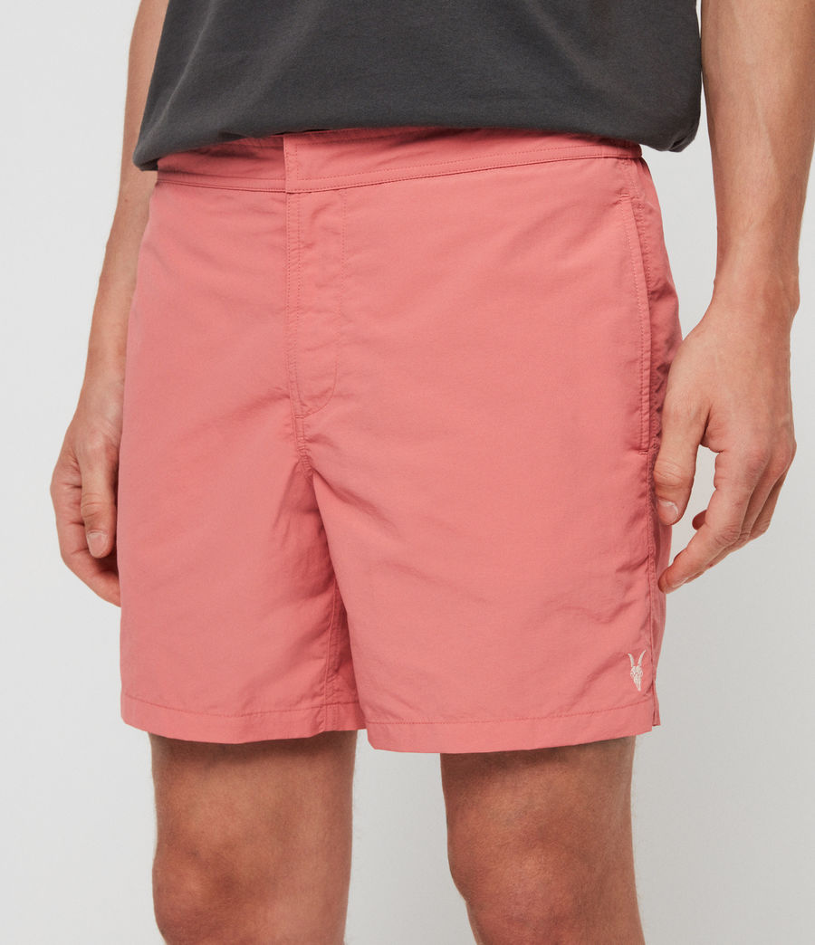 Mens Warden Swim Shorts (havana_pink) - Image 4