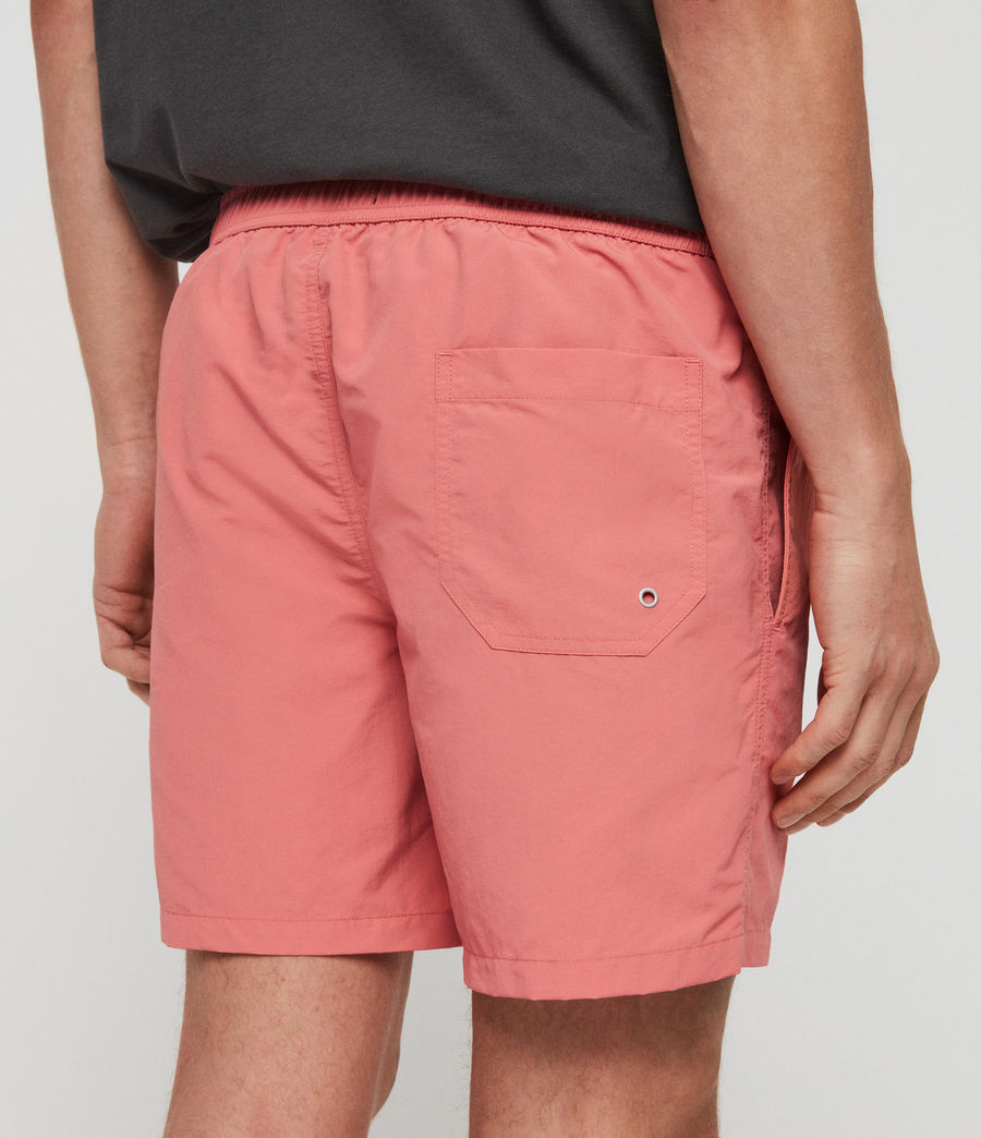 Mens Warden Swim Shorts (havana_pink) - Image 5