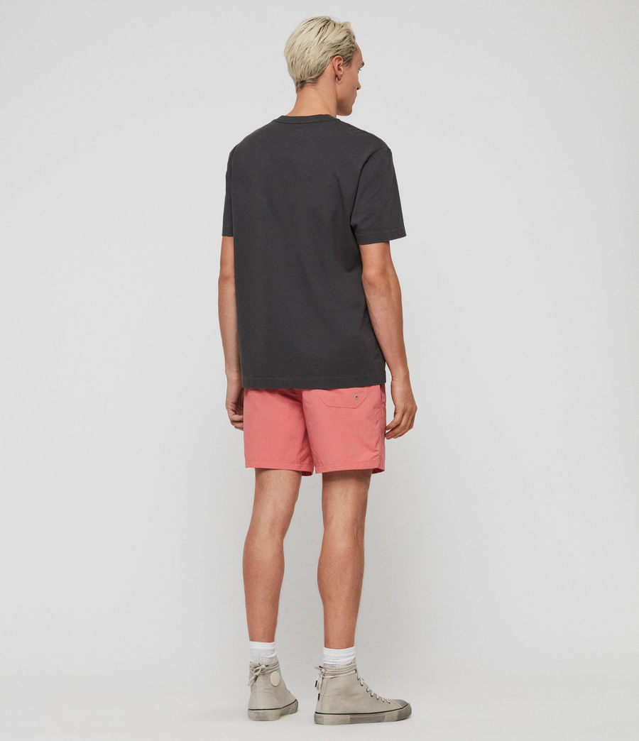 Mens Warden Swim Shorts (havana_pink) - Image 6