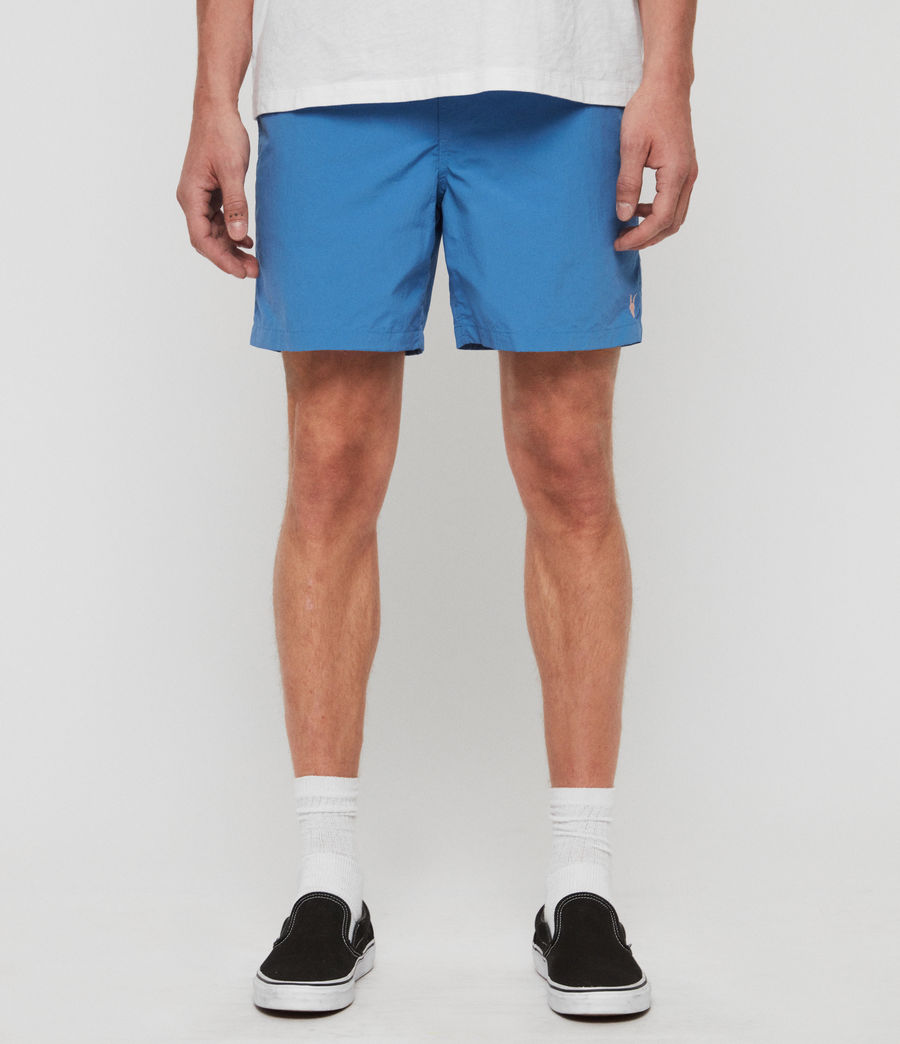 Mens Warden Swim Shorts (atlantic_blue) - Image 1
