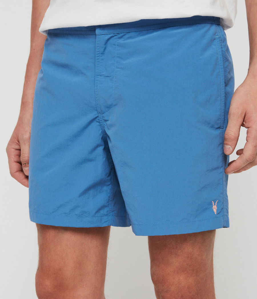 Mens Warden Swim Shorts (atlantic_blue) - Image 2