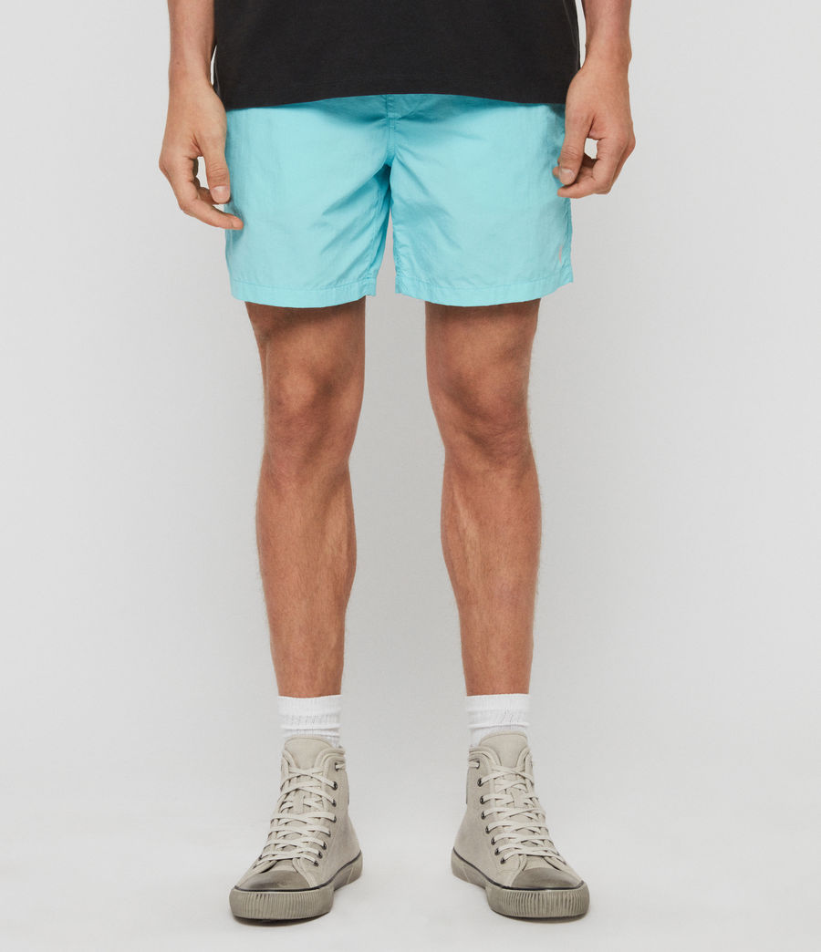 Men's Warden Swim Shorts (hawaii_blue) - Image 1