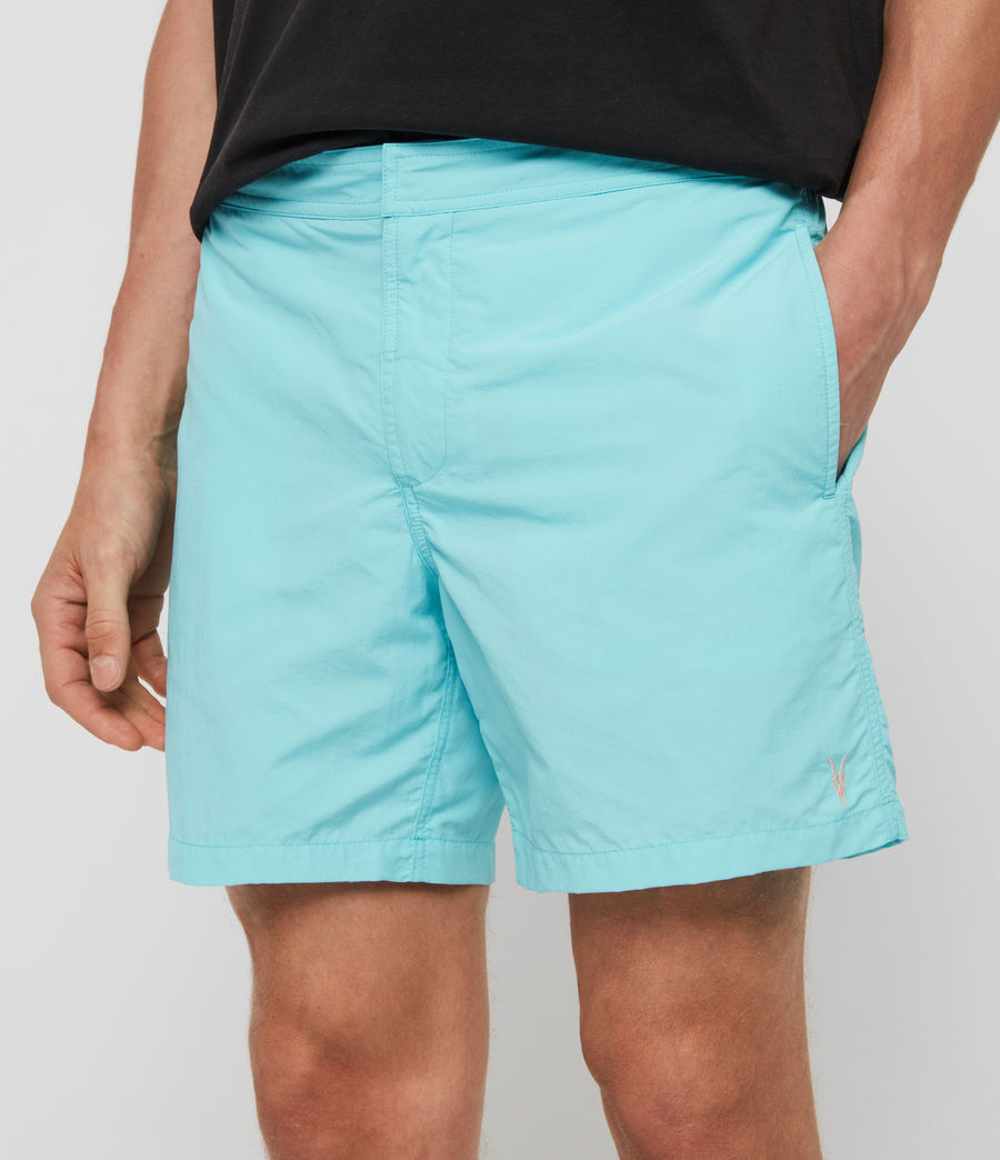 Mens Warden Swim Shorts (hawaii_blue) - Image 4