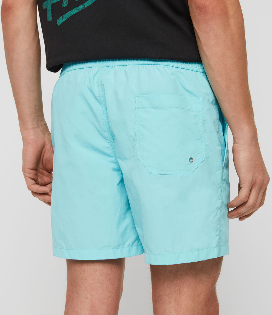 Mens Warden Swim Shorts (hawaii_blue) - Image 5