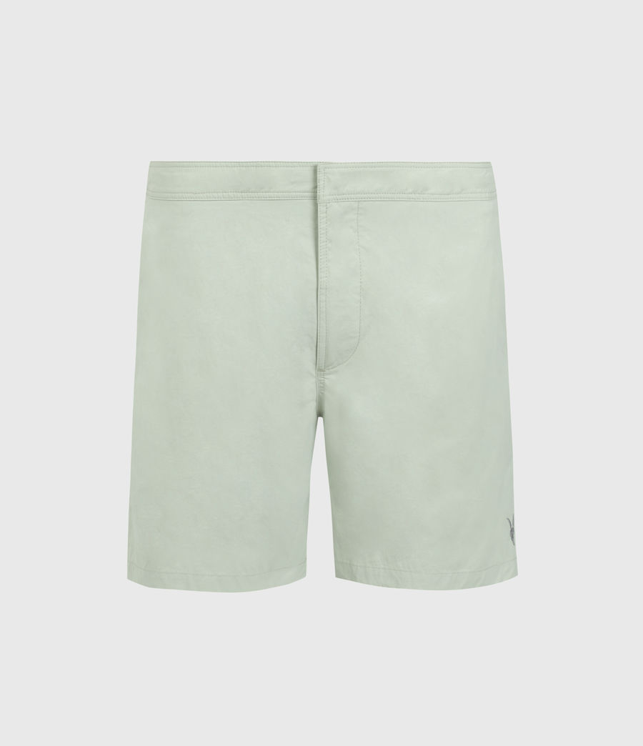 Mens Warden Swim Shorts (thyme_green) - Image 1