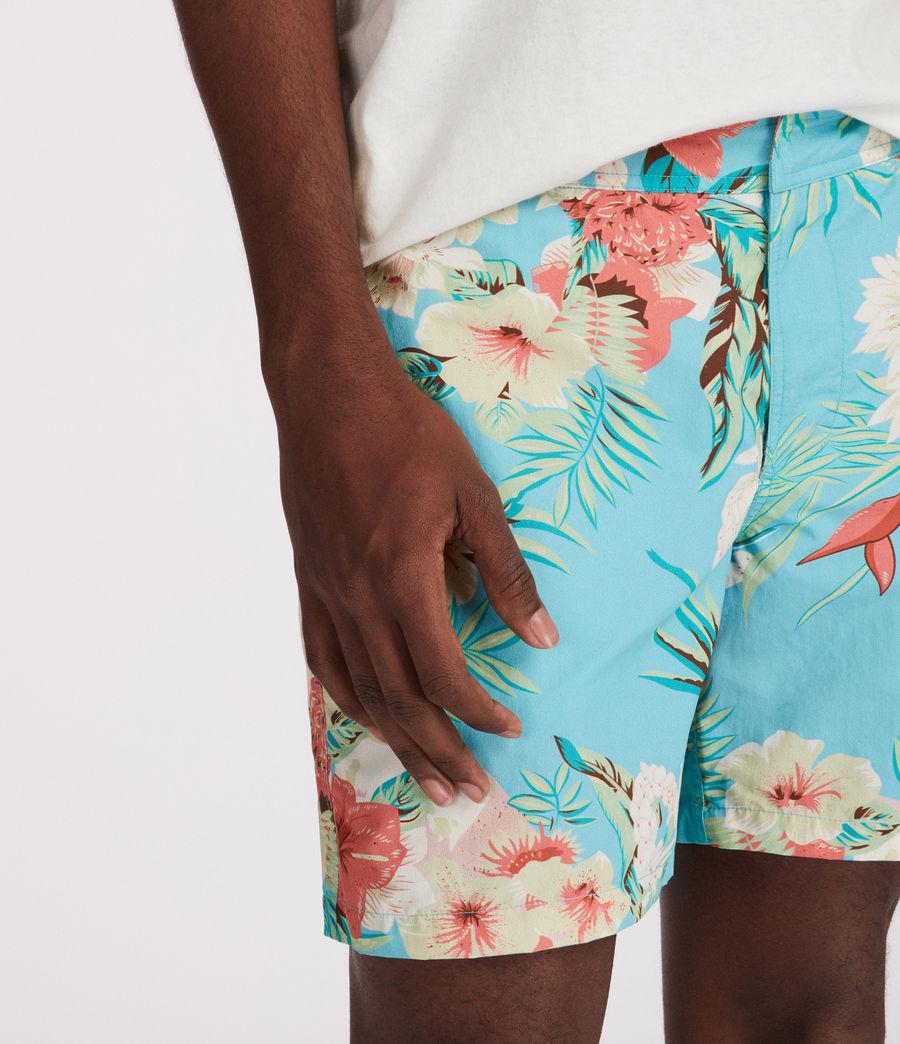 Uomo Calypso Swim Shorts (blue) - Image 4