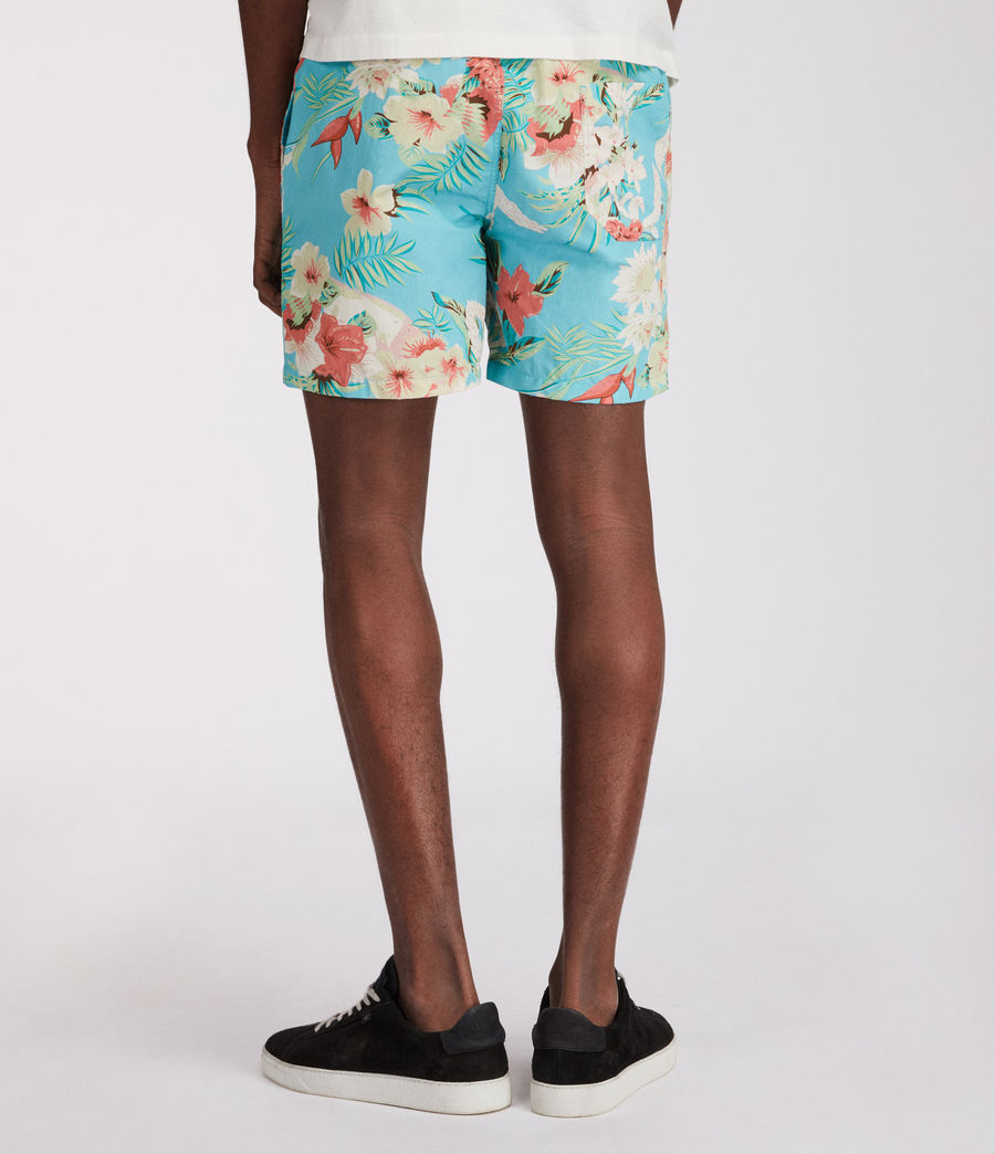 Uomo Calypso Swim Shorts (blue) - Image 5