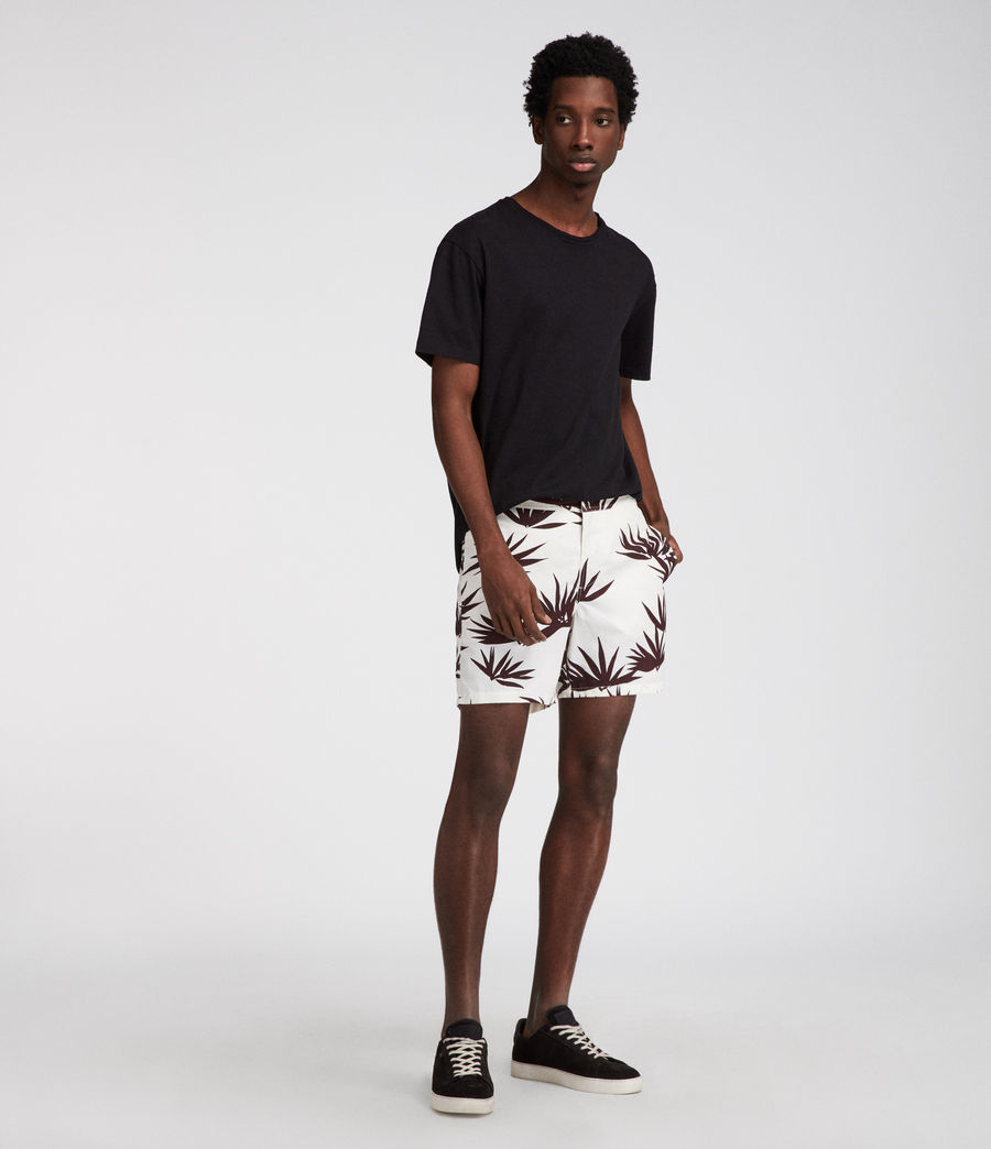 Men's Bhutan Swim Shorts (ecru) - Image 1