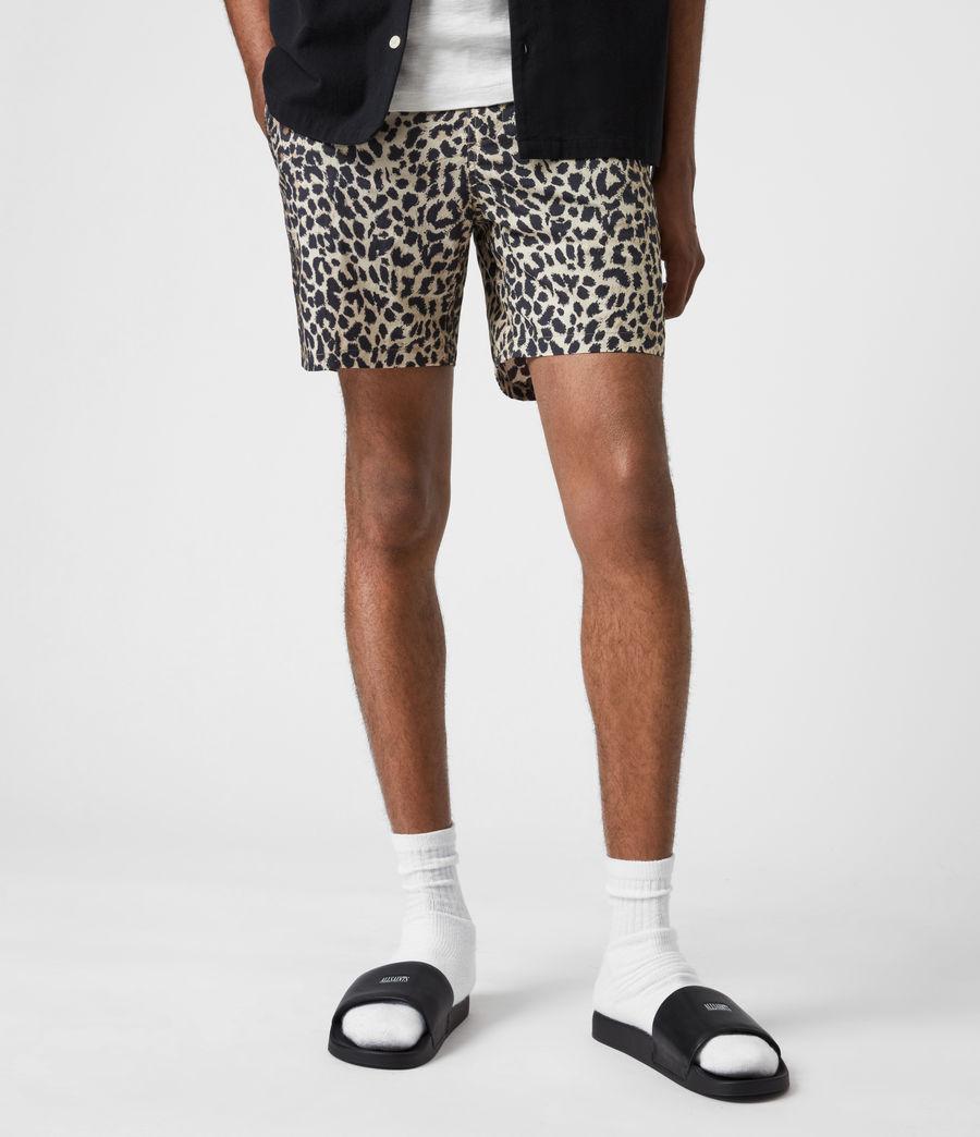 Mens Reserve Swim Shorts (ecru) - Image 4