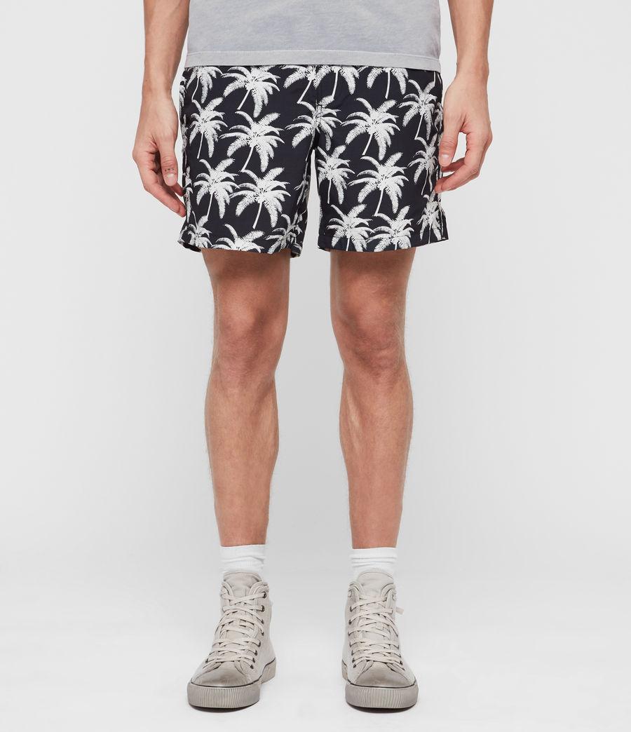 Hommes Short de Bain Santa Cruz (jet_black__white) - Image 1