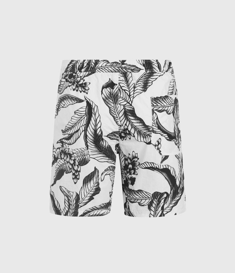 Hommes Short de Bain Kahuna Mono (optic_white) - Image 2