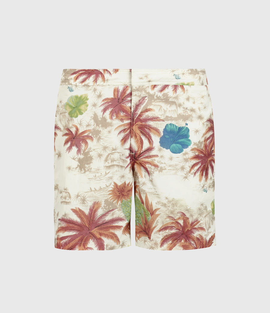Men's Kanaloa Swim Shorts (optic_white) - Image 1