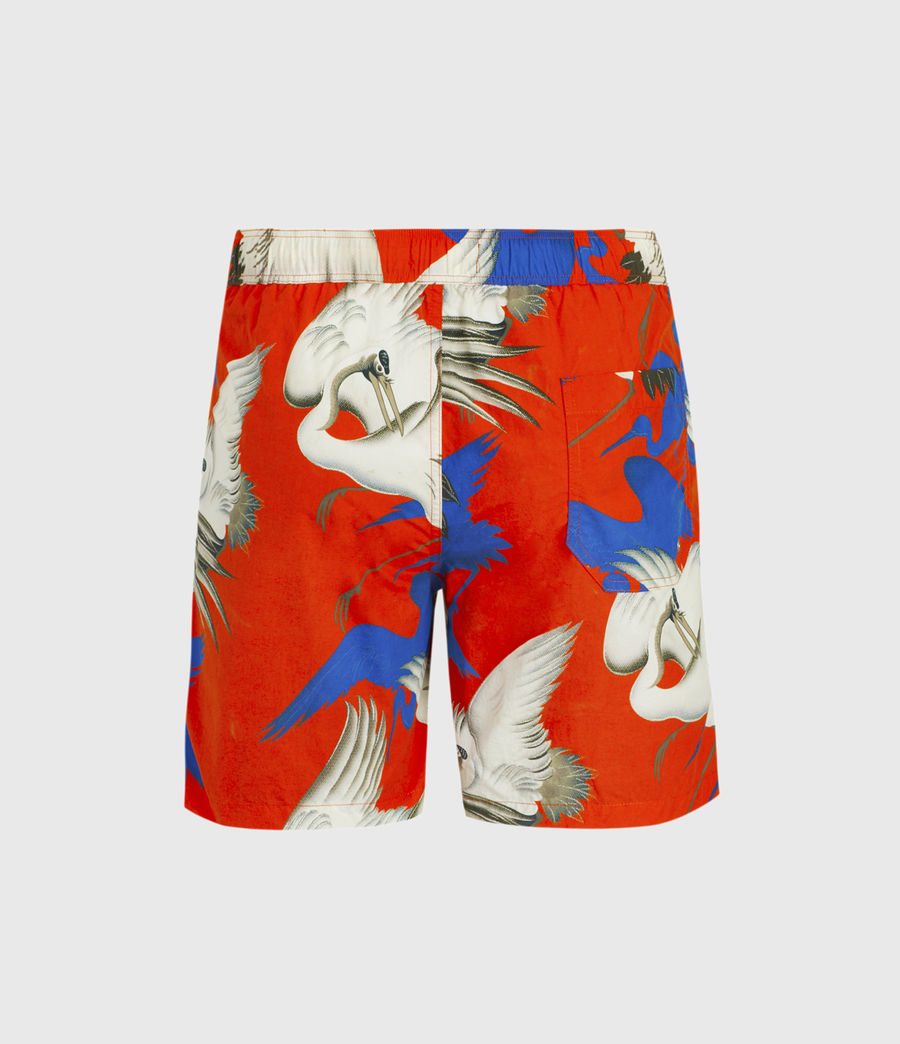 Herren Roost Swim Shorts (acer_red) - Image 2