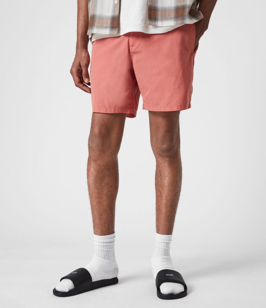 Mens Warden Swim Shorts (sunrise_pink) - Image 1