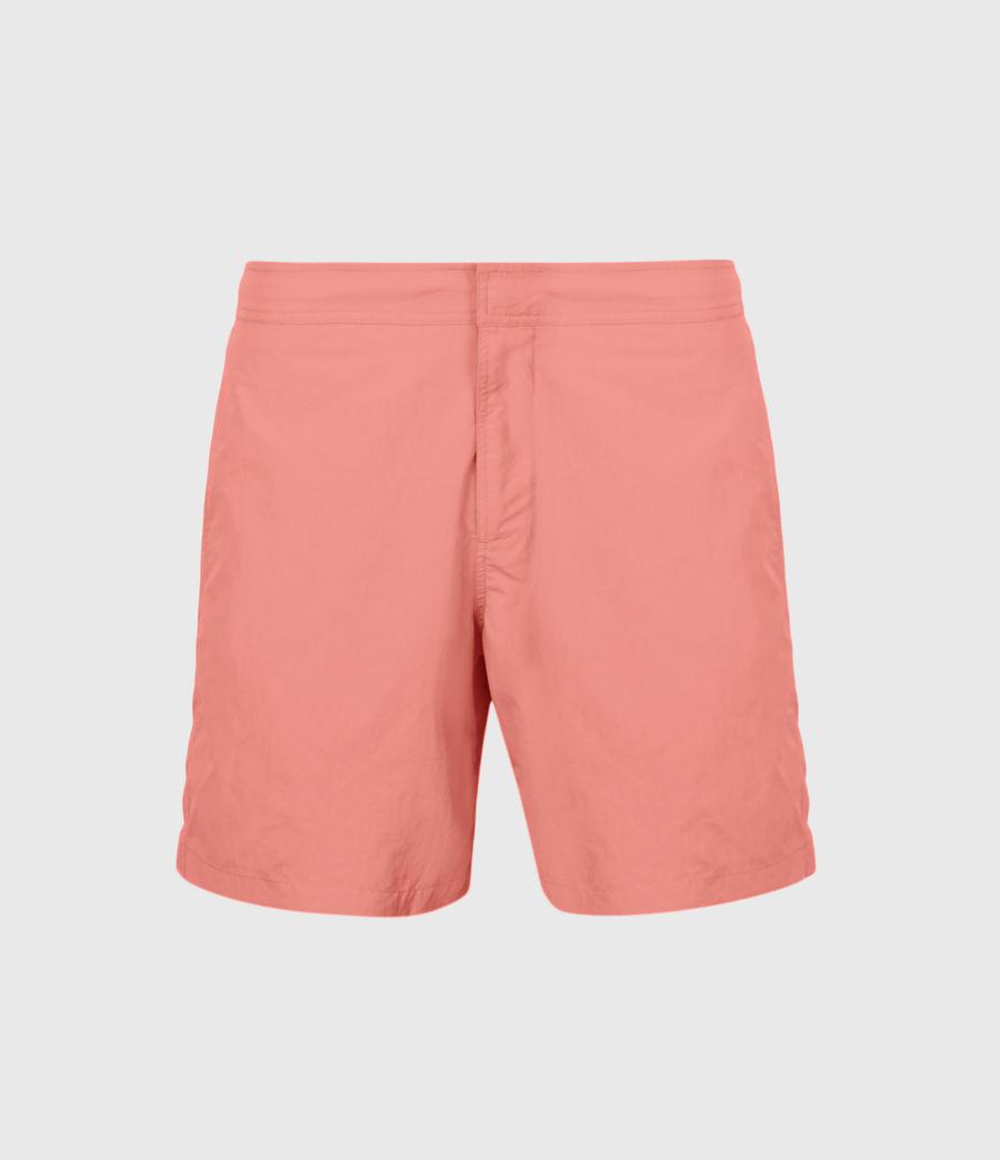 Mens Warden Swim Shorts (sunrise_pink) - Image 2