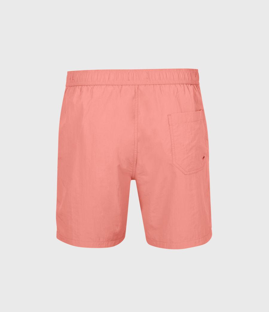 Mens Warden Swim Shorts (sunrise_pink) - Image 3