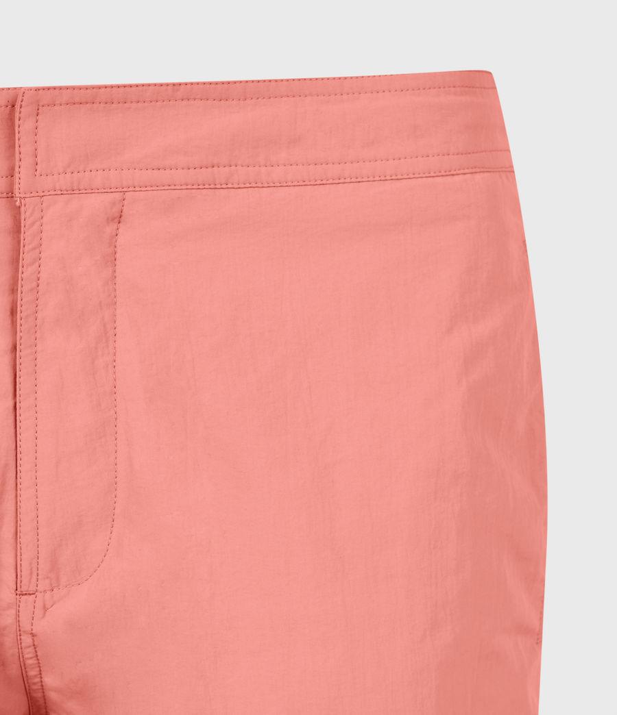 Mens Warden Swim Shorts (sunrise_pink) - Image 5