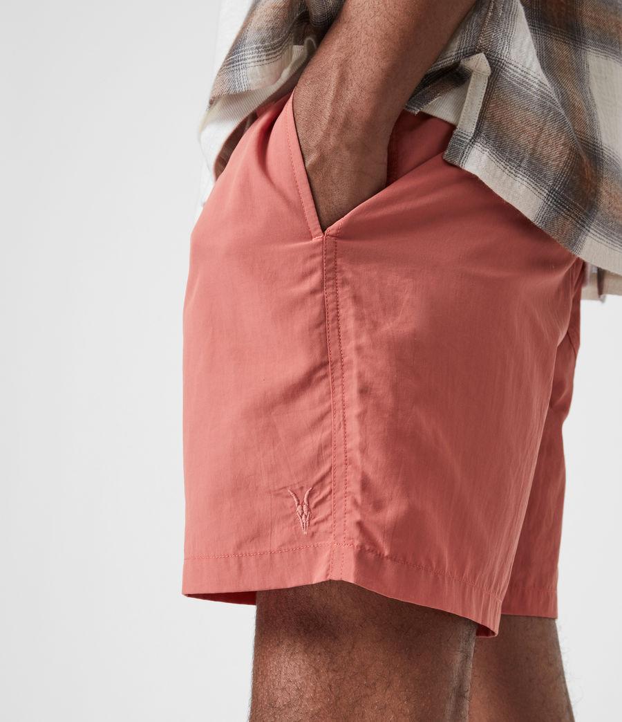 Mens Warden Swim Shorts (sunrise_pink) - Image 6
