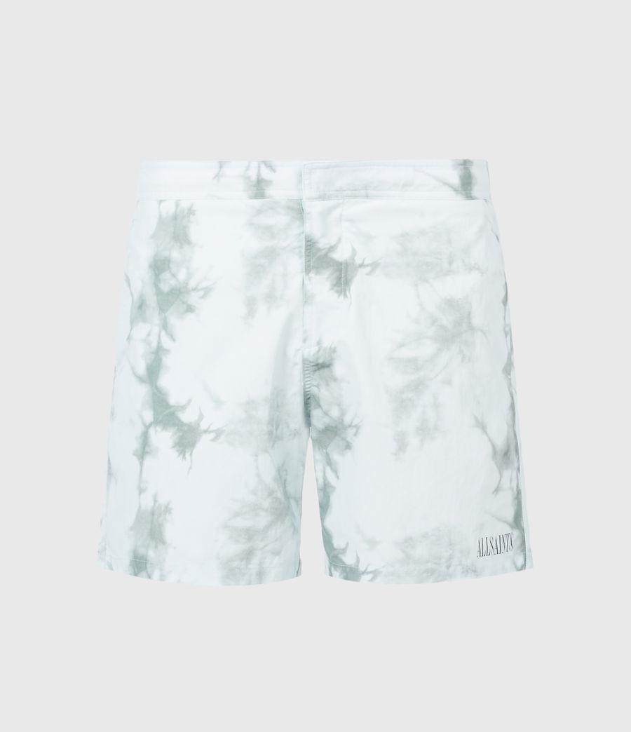 Mens State Tie Dye Swim Shorts (blue_grey) - Image 2