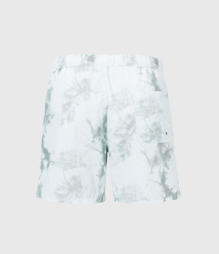 Mens State Tie Dye Swim Shorts (blue_grey) - Image 3