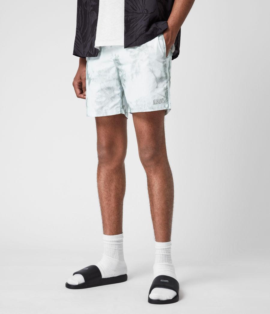 Mens State Tie Dye Swim Shorts (blue_grey) - Image 4
