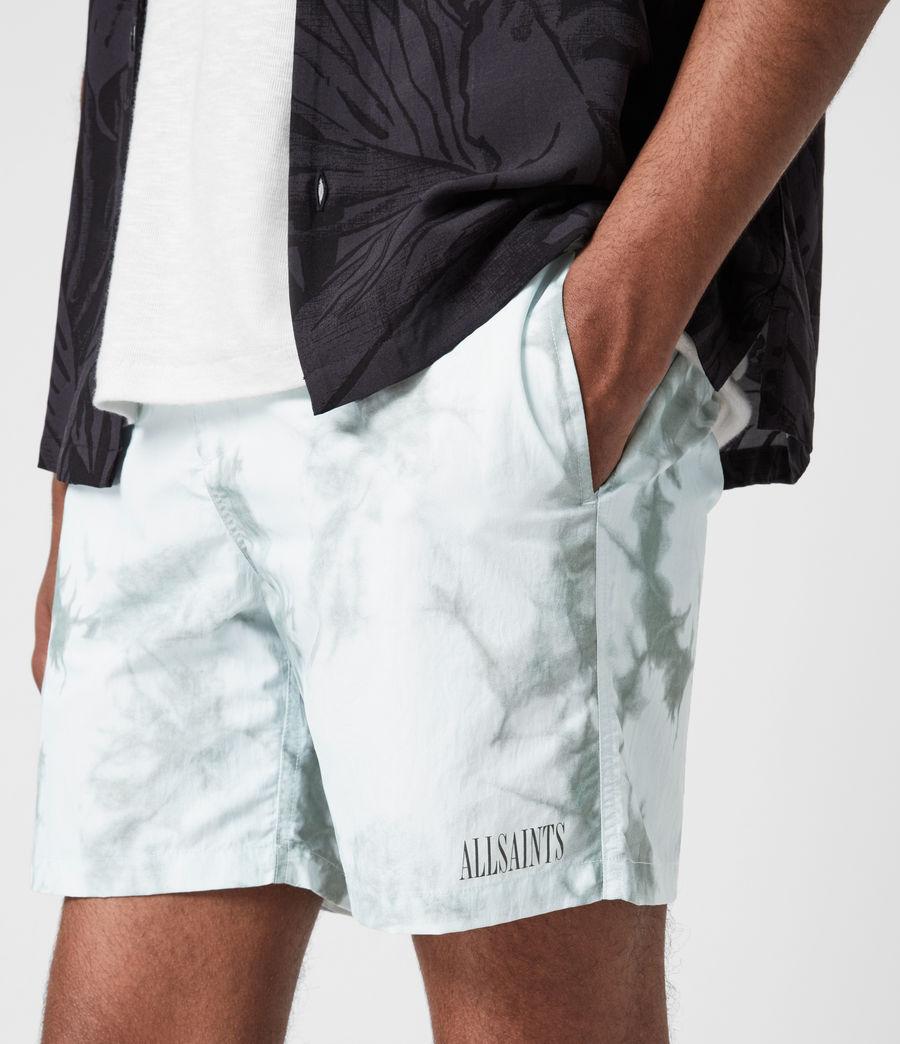 Mens State Tie Dye Swim Shorts (blue_grey) - Image 7