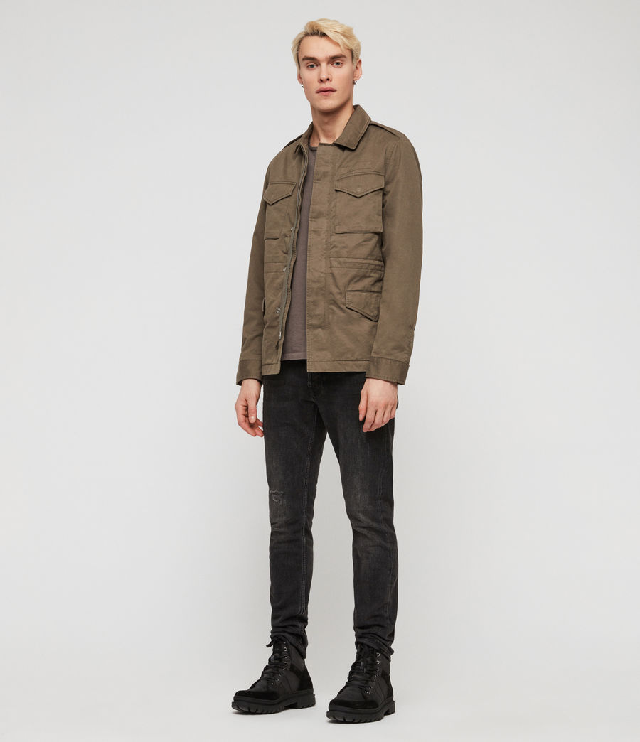 Mens Cote Jacket (dusty_olive) - Image 1