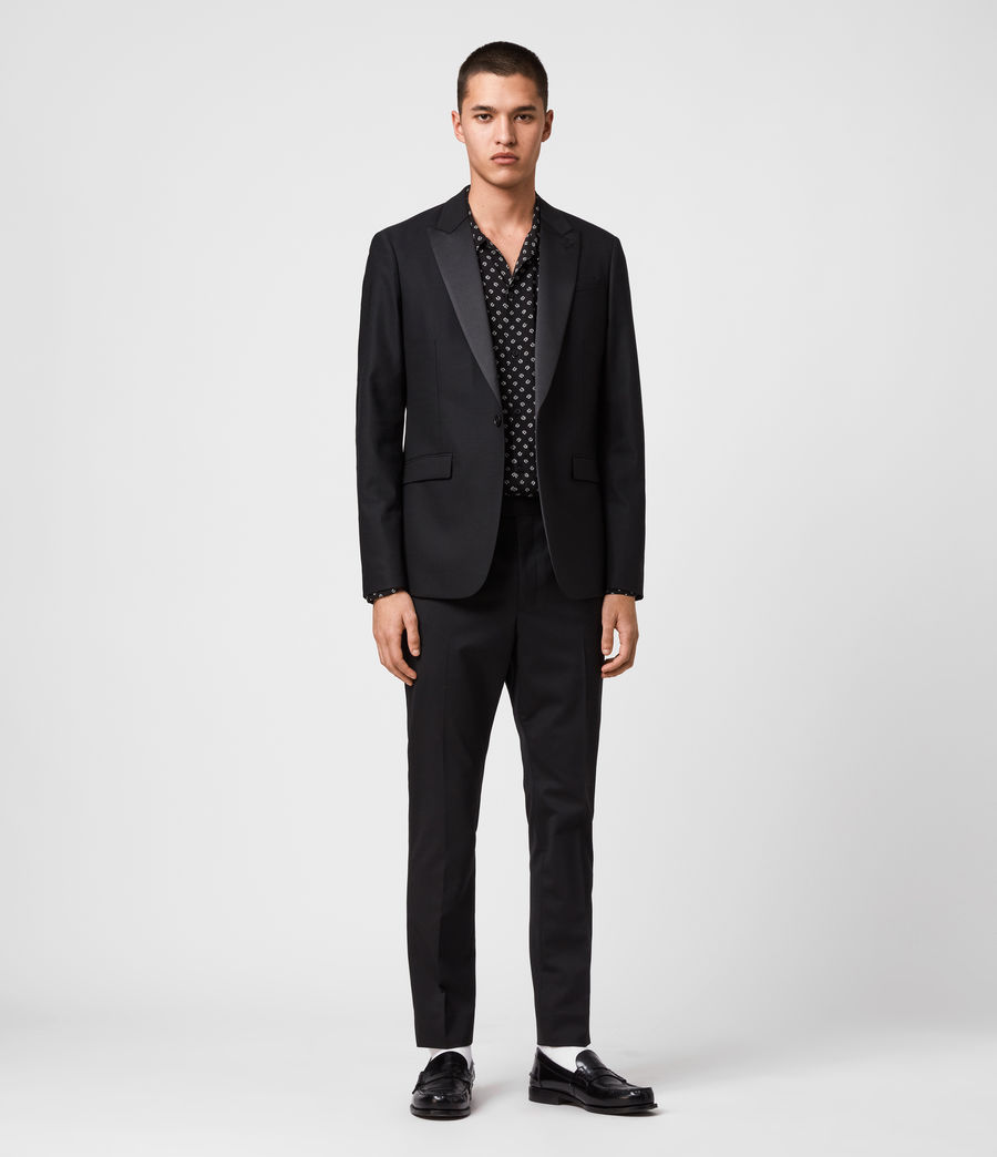 Men's Fulbeck Blazer (black) - Image 1
