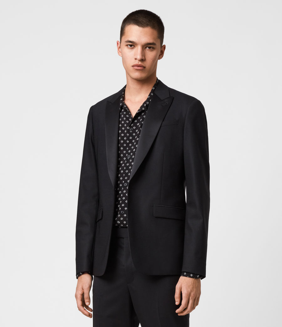 Men's Fulbeck Blazer (black) - Image 2