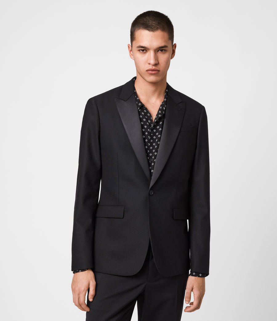 Men's Fulbeck Blazer (black) - Image 3